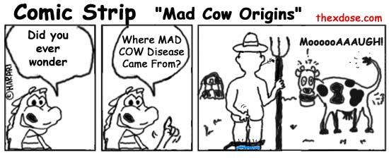 Mad Cow Origins